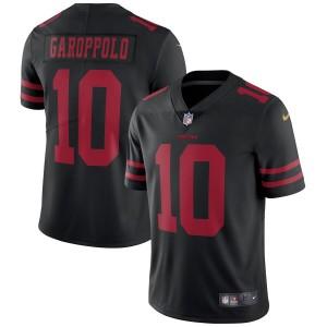 Jimmy Garoppolo San Francisco 49ers Nike Vapor Intouchable Limité Maillot - Noir