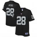 Josh Jacobs Oakland Raiders NFL Pro Line Femmes Team Joueur Maillot - Noir