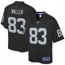 Darren Waller Oakland Raiders NFL Pro Line Team Joueur Maillot - Noir