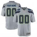 Seattle Seahawks Nike Custom Alternate Jeu Maillot - Gris