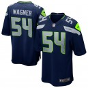 Bobby Wagner Seattle Seahawks Nike Jeu Maillot - Marine des collèges