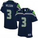 Pro Line Femmes Seattle Seahawks Russell Wilson Équipe Color Maillot