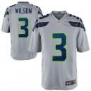 Russell Wilson Seattle Seahawks Nike Alternate Jeu Maillot - Gris