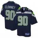 Jadeveon Clowney Seattle Seahawks NFL Pro Line Joueur Maillot - Marine des collèges