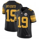JuJu Smith-Schuster Jersey Pittsburgh Steelers Nike Vapor Untouchable Color Rush Limited - Noir