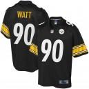 T.J. Watt Pittsburgh Steelers NFL Pro Line Maillot Joueur Grand & Grand - Noir
