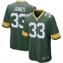 Aaron Jones Green Bay - Packers - Maillot de match pour joueur Nike - Vert