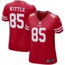 Maillot de match Nike Nike 49ers George Kittle pour Femme - Écarlate