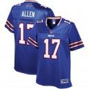 Maillot Josh Allen NFL Pro Line Royal Player pour femmes Buffalo Bills pour Femme