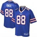 Maillot NFL Pro Line Royal Player de Dawson Knox pour hommes Buffalo Bills