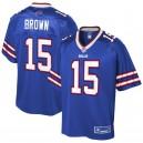 Maillot Buffalo Bills John Brown NFL Pro Line Royal Player pour hommes