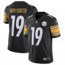 Pittsburgh Steelers JuJu Smith-Schuster Nike Noir Équipe Couleur Vapeur Intouchable Limitée Maillot