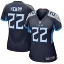 Tennessee Titans Derrick Henry Maillot de jeu Nike Navy New 2018 pour femme
