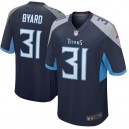 Kevin Byard Tennessee Titans Nike New 2018 Jeu Maillot - Marine