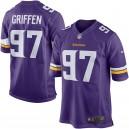Everson Griffen Minnesota Vikings Nike Jeu Maillot - Violet