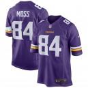 Randy Moss Minnesota Vikings Nike Retired Joueur Jeu Maillot - Violet
