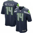 DK Metcalf Seattle Seahawks Nike Jeu Maillot - Marine
