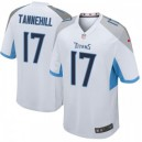 Hommes Tennessee Titans Ryan Tannehill Blanc Jeu Maillot Par Nike