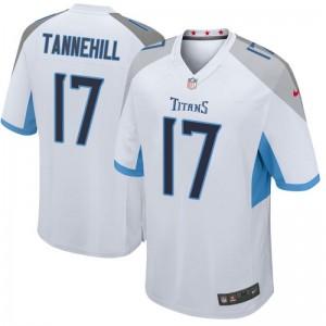 Enfants Tennessee Titans Ryan Tannehill Blanc Jeu Maillot par Nike