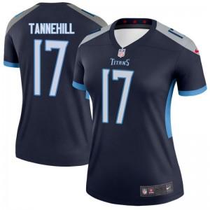 Femmes Tennessee Titans Ryan Tannehill Navy Legend Maillot Par Nike