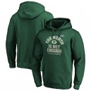 Green Bay Packers NFL Pro Line by Fanatics Branded NFC North Division Champions Cover Two Pullover Hoodie - Vert