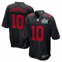 Jimmy Garoppolo San Francisco 49ers Nike Super Bowl LIV Bound Jeu Event Maillot - Noir