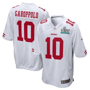 Jimmy Garoppolo San Francisco 49ers Nike Super Bowl LIV Bound Jeu Event Maillot - Blanc
