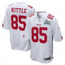 George Kittle San Francisco 49ers Nike Super Bowl LIV Bound Jeu Event Maillot - Blanc