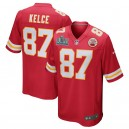Travis Kelce Kansas City Chiefs Nike Super Bowl LIV Bound Jeu Maillot - Rouge