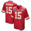 Patrick Mahomes Kansas City Chiefs Nike Super Bowl LIV Bound Jeu Maillot - Rouge