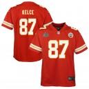 Travis Kelce Kansas City Chiefs Nike Enfants Super Bowl LIV Bound Jeu Maillot - Rouge