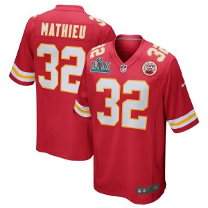Tyrann Mathieu Kansas City Chiefs Nike Super Bowl LIV Bound Jeu Maillot - Rouge