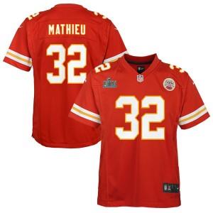 Tyrann Mathieu Kansas City Chiefs Nike Enfants Super Bowl LIV Bound Jeu Maillot - Rouge