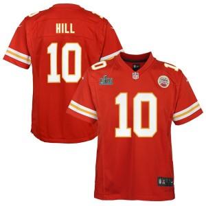 Tyreek Hill Kansas City Chiefs Nike Enfants Super Bowl LIV Bound Jeu Maillot - Rouge