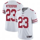 Maillot Route Ahkello Witherspoon Blanc San Francisco 49ers Limité pour Homme