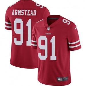 Maillot à domicile Arik Armstead Rouge San Francisco 49ers chez les hommes limités