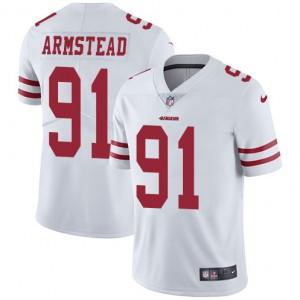 Maillot limité de la route blanche Arik Armstead San Francisco 49ers
