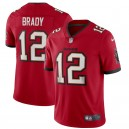 Tom Brady Tampa Bay Buccaneers Nike Vapor Limited Maillot - Rouge
