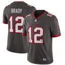 Tom Brady Tampa Bay Buccaneers Nike Alternate Vapor Limited Maillot - Étain