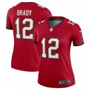 Tom Brady Tampa Bay Buccaneers Nike Women's Legend Maillot - Rouge
