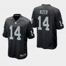 Hommes Oakland Raiders DeShone Kizer Maillot de jeu - Noir