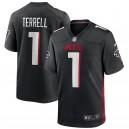 A.J. Terrell Atlanta Falcons Nike 2020 NFL Draft First Round Pick Jeu Maillot - Noir