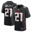 Todd Gurley II Atlanta Falcons Nike Jeu Maillot - Noir