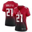 Todd Gurley II Atlanta Falcons Nike Femmes 2nd Alternate Jeu Maillot - Rouge