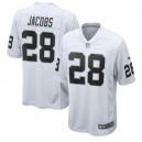 Josh Jacobs Las Vegas Raiders Nike Maillot - Blanc