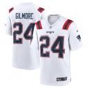 Stephon Gilmore New England Patriots Nike Jeu Maillot - Blanc