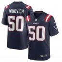 Chase Winovich New England Patriots Nike Jeu Maillot - Marine