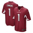 Isaiah Simmons Arizona Cardinals Nike 2020 NFL Draft First Round Pick Jeu Maillot - Cardinal