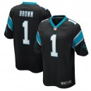 Derrick Brown Carolina Panthers Nike 2020 NFL Draft First Round Pick Jeu Maillot - Noir