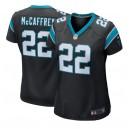 Christian McCaffrey Carolina Panthers Nike Femmes Jeu Joueur Maillot - Noir